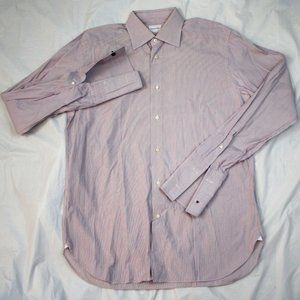 Ermenegildo Zegna Long Sleeve Button Front French